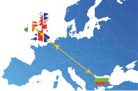 транспорт България - Англия