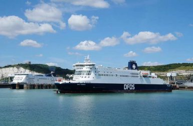 Резервации за ферибот Кале-Доувър