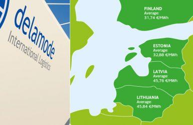 превоз на товари Финландия, Латвия, Естония и Литва