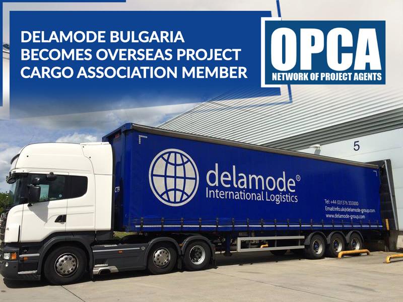 Деламод става член - Асоциацията за международен транспорт на проектни товари