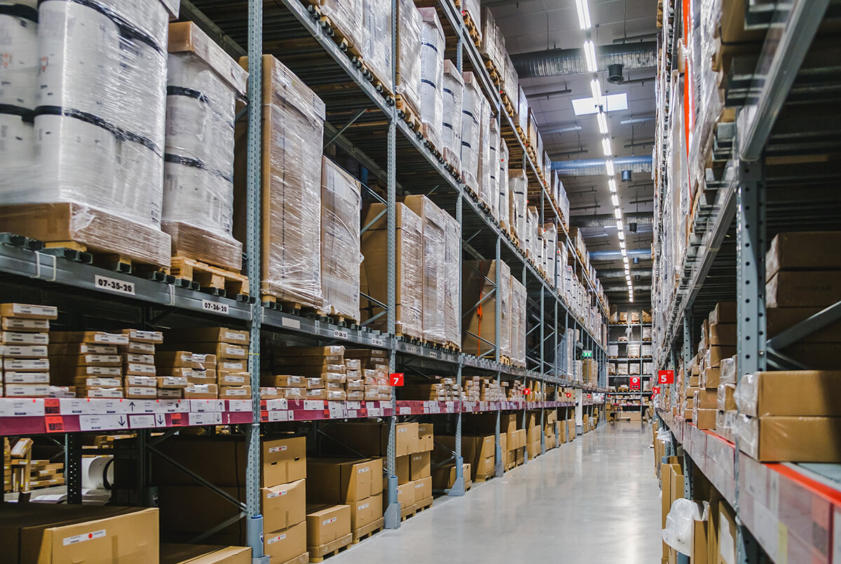 Приемане, съхранение и спедиция на стоки