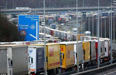 граничен контрол при логистични превози между Великобритания и ЕС