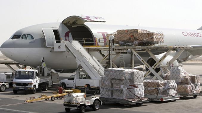 Въздушно карго от/до адрес и летище в Италия