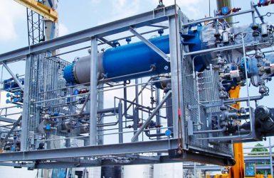 Транспорт на проектни товари за химически инсталации