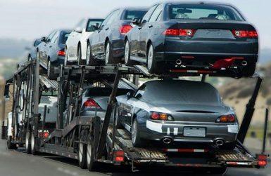 Транспорт на закупени транспортни средства при първото им празно придвижване
