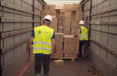 складиране на стоки за електронна търговия