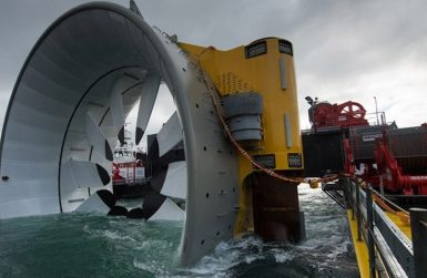 Транспорт на проектни товари за приливни и вълнови централи за морски ВЕЦ