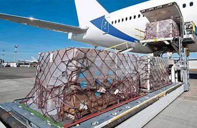 Транспорт на пратки по въздух
